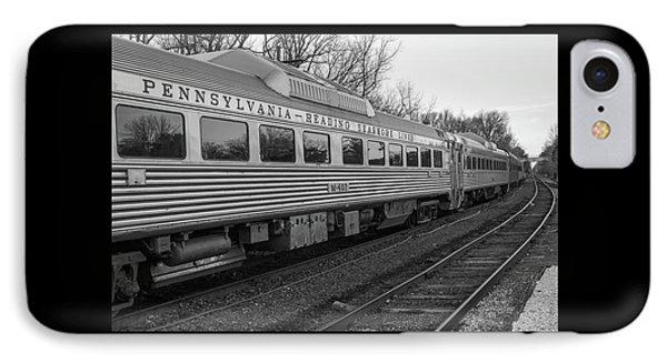 Pennsylvania Reading Seashore Lines Train IPhone Case by Terry DeLuco