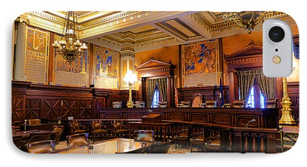 Pennsylvania Supreme Court  IPhone Case by Olivier Le Queinec