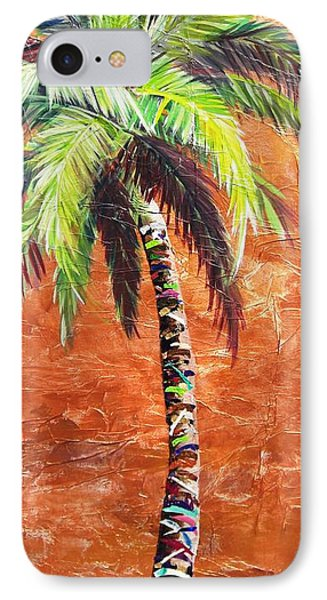Penny Palm IPhone Case by Kristen Abrahamson