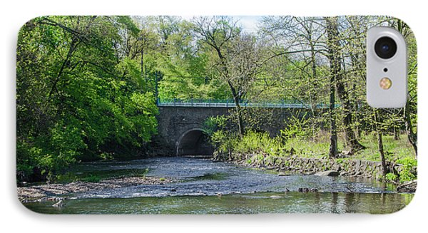 IPhone Case featuring the photograph Pennypack Creek Bridge Built 1697 by Bill Cannon