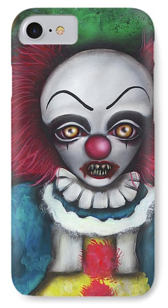 Pennywise IPhone Case by Abril Andrade Griffith