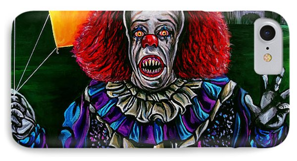 Pennywise It Phone Case by Jose Mendez