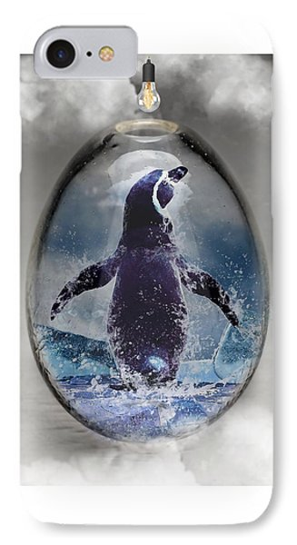 Penquin Art IPhone Case