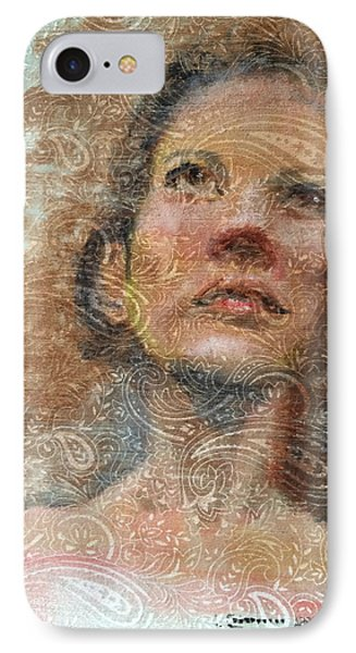 Pensive Phone Case by Vicki Ross