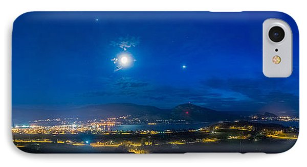 Penticton Night 1 IPhone Case by Thomas Born