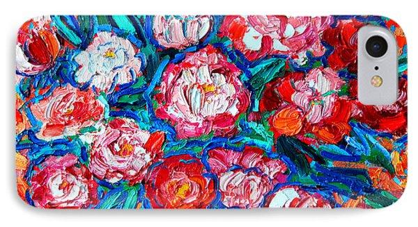 Peonies Bouquet Phone Case by Ana Maria Edulescu