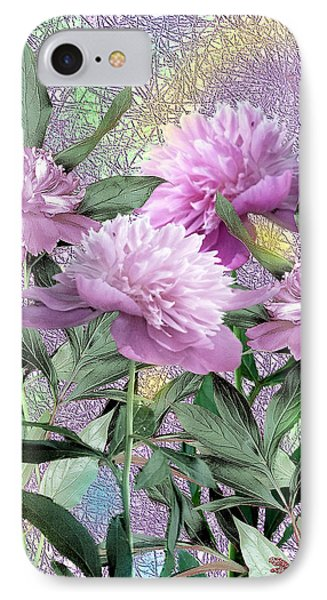 Peonies IPhone Case by John Selmer Sr