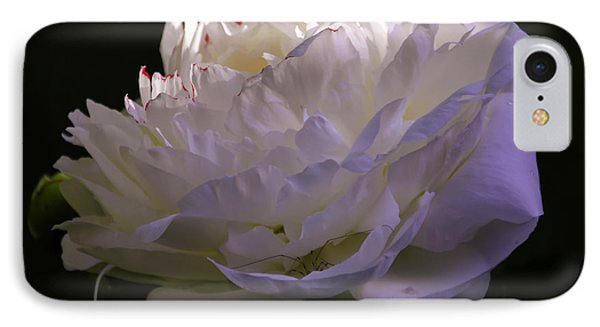 Peony At Eventide IPhone Case by Marilyn Carlyle Greiner