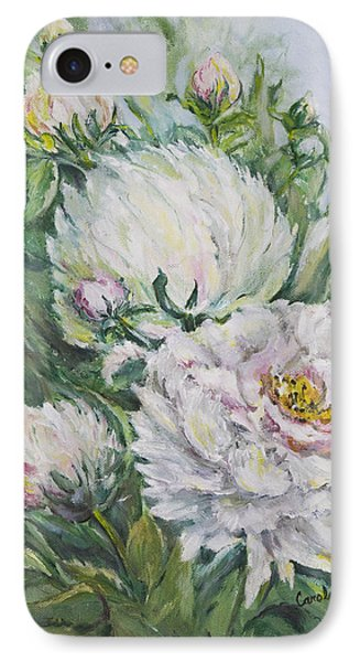 Peony Phone Case by Carolyn Bell