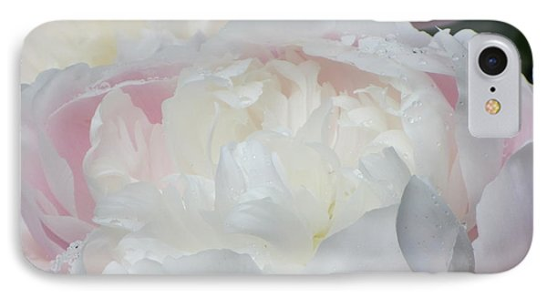 Peony IPhone 7 Case by Karen Shackles