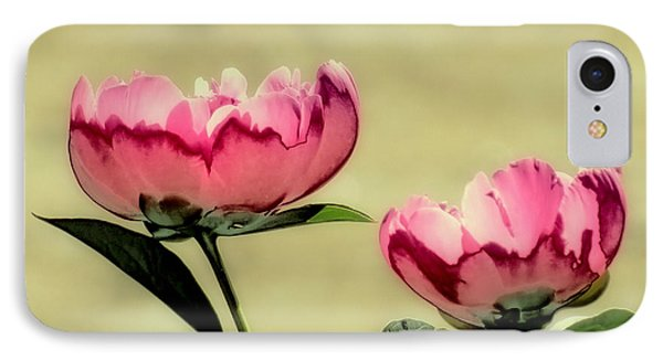 Peony Pair - Enhanced IPhone Case