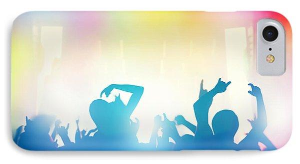 People Having Fun In Night Club IPhone Case