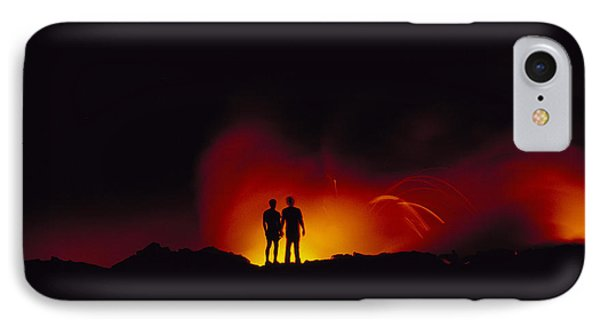 People View Lava Phone Case by Ron Dahlquist - Printscapes