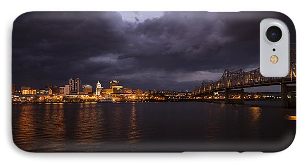 Peoria Stormy Cityscape IPhone Case