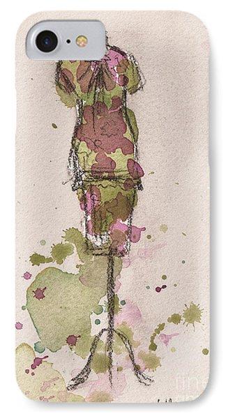 Peplum Dress Phone Case by Lauren Maurer