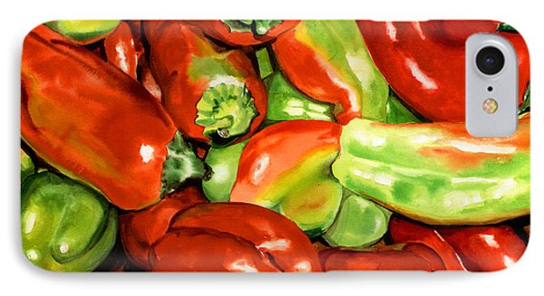 Peppers Phone Case by Nadi Spencer