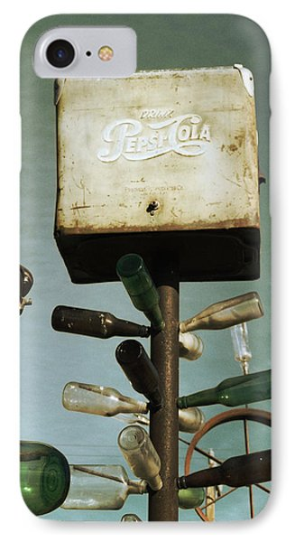 Pepsi Bottle Tree - Route 66 Phone Case by Glenn McCarthy Art and Photography