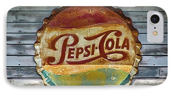 Pepsi-cola Sign Vintage IPhone Case