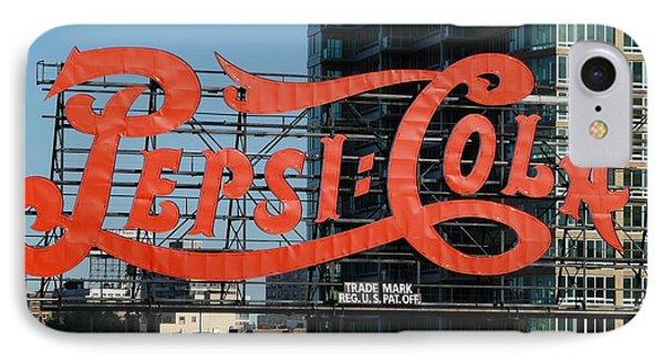 Pepsi-cola IPhone Case by Valerie Ornstein
