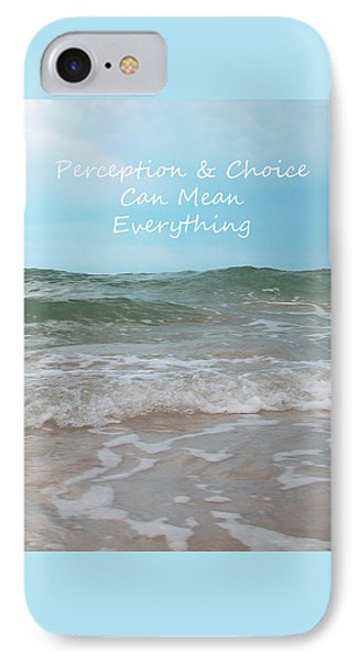Perception IPhone Case by Sabrina Wheeler
