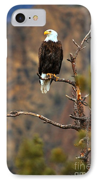 Perched At Smith Rock IPhone Case by Adam Jewell