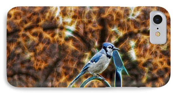 Perched Jay IPhone Case by Cameron Wood