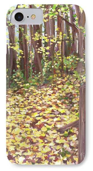 Percy Warner Trees IPhone Case