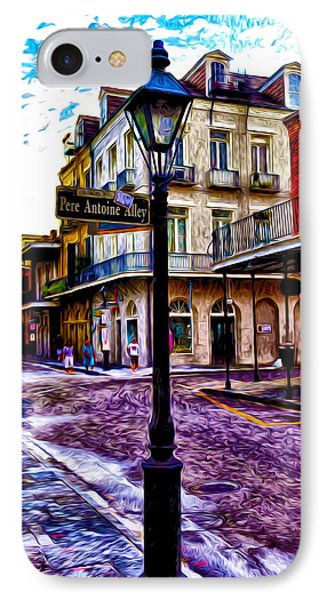 Pere Antoine Alley - New Orleans Phone Case by Bill Cannon