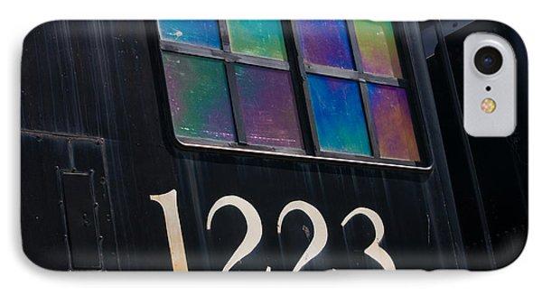 Pere Marquette Locomotive 1223 Phone Case by Adam Romanowicz