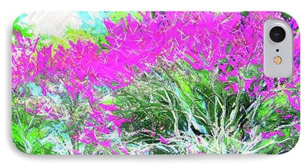 IPhone Case featuring the photograph Perennial Garden by Susan Carella