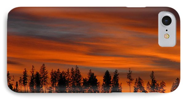 Perfect Evening IPhone Case by Greg Patzer