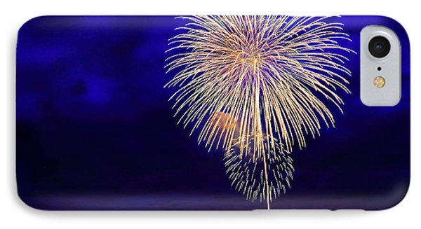 Perfect Fire Works IPhone Case by Britten Adams