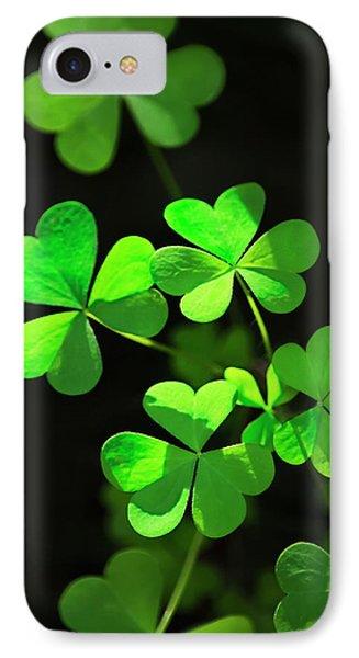 Perfect Green Shamrock Clovers IPhone 7 Case