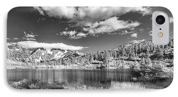 IPhone Case featuring the photograph Perfect Lake At Mount Baker by Jon Glaser