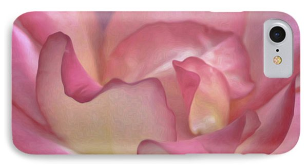 Pink Rose Petals IPhone Case by Joann Copeland-Paul