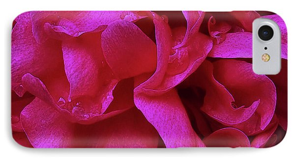Perfectly Pink Peony Petals IPhone Case