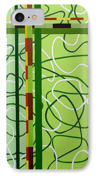 Peridot Party Phone Case by Tara Hutton