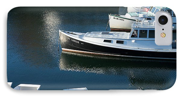 Perkins Cove Lobster Boats One IPhone Case