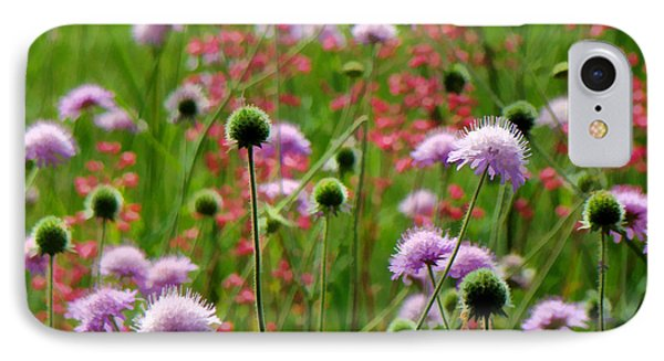 Perky Chives IPhone Case by Betsy Zimmerli