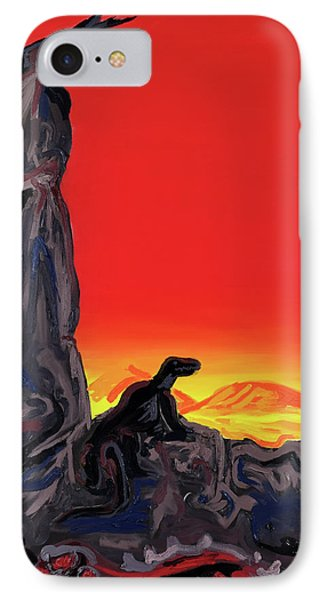 Permian Outpost IPhone Case by Ryan Demaree