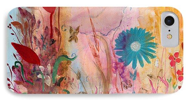 Persephone's Splendor IPhone Case by Robin Maria Pedrero
