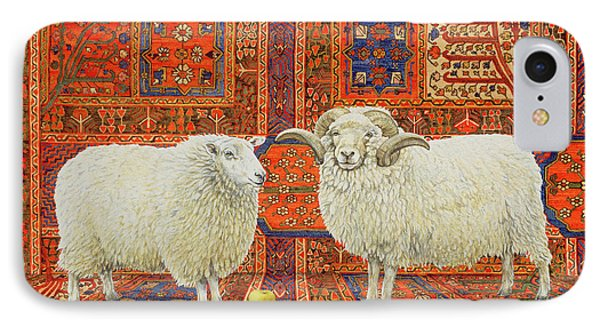 Persian Wool IPhone Case by Ditz