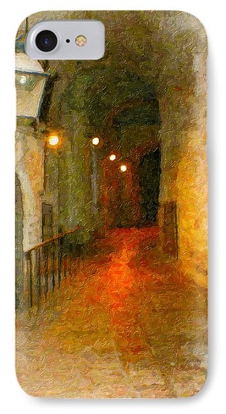 Perugia Grotto 1 IPhone Case by Rob Tullis