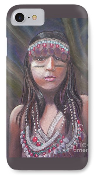 Peruvian Girl Phone Case by Julie Brugh Riffey