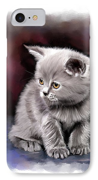 Pet Cat Portrait IPhone Case