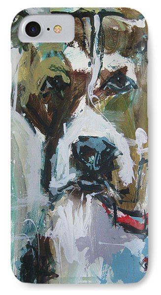 IPhone Case featuring the painting Pet Commission Painting by Robert Joyner
