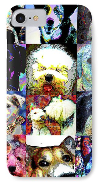 Pet Portraits IPhone Case by Alene Sirott-Cope