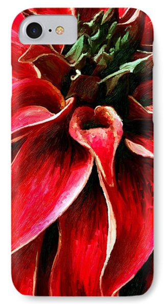 IPhone Case featuring the painting Petals by James Shepherd