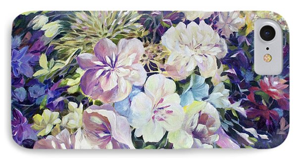 IPhone Case featuring the painting Petals by Joanne Smoley