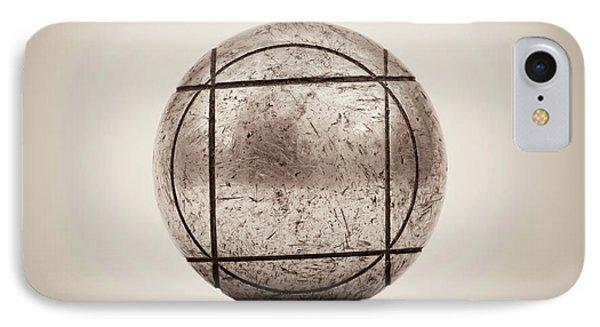 Petanque Ball IPhone Case by Wim Lanclus